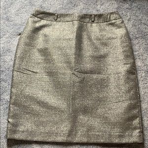 Dresses & Skirts - Silver pencil skirt